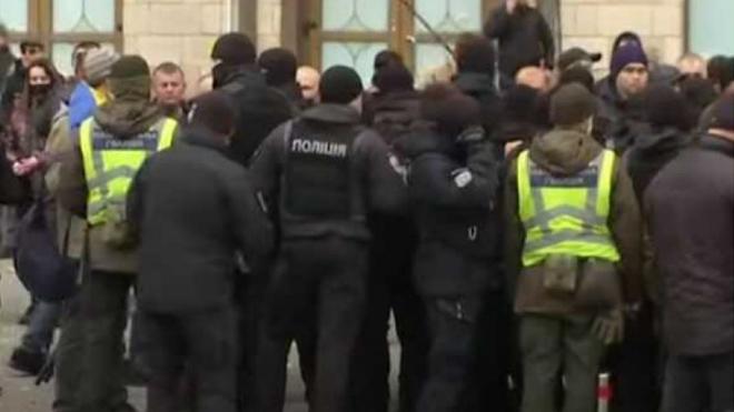 В Киеве прошла акция протеста